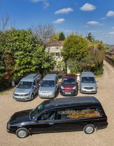 Nottingham Pet Crematorium vehicles