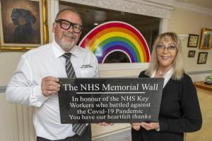 NHS Memorial Wall at Nottingham Pet Crematorium